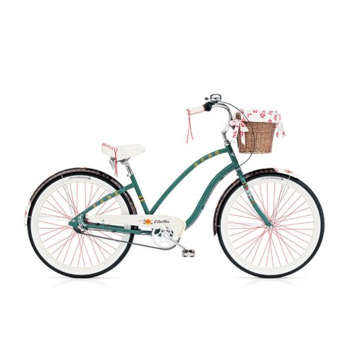 Bici: Electra Gypsy 3-Speed forest green Ladies 3i Ladies Gir