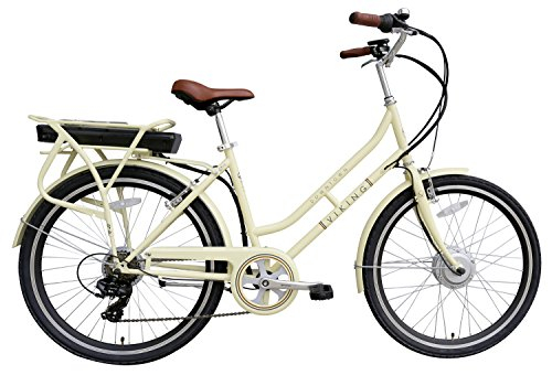 Bikes:  - Viking Women's Downtown Bike, Cream, Medium