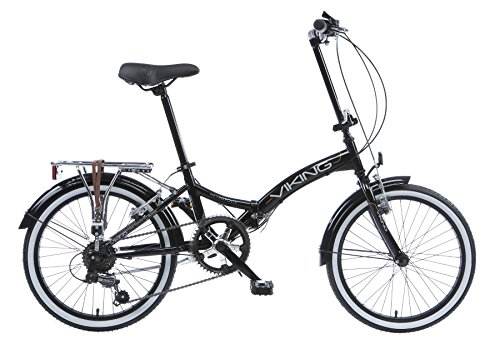 Bikes:  - Viking Unisex Metropolis Bike, Black, Medium