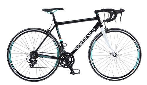 Bikes:  - Viking Men Roubaix Bike - Black, Large