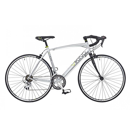 Bikes:  - VIKING VUELTA MENS ROAD RACING BIKE 700C WHEEL 14 SPEED ALLOY 59CM FRAME SILVER VN106